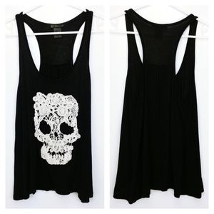 Black tank by Grass Collection.             B3